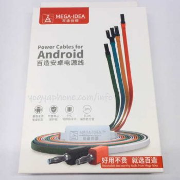 Power cable Android iPhone kabel power by Mega Idea
